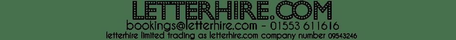 letterhire.com